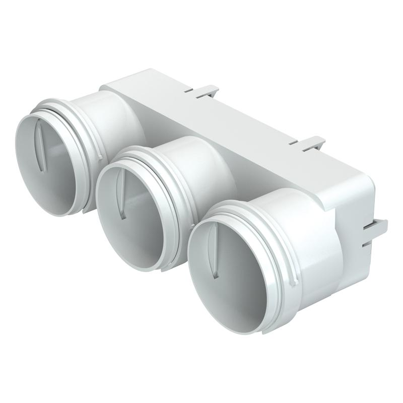 Муфта переходная ВЕНТС FlexiVent DN75/204x60